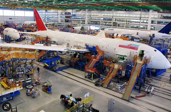 787 Assembly line Charleston NC