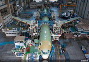 Airbus A330 Production Line