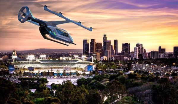 Embraer eVTOL Concept for Uber