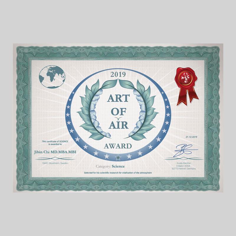 Art of Air Award 2019