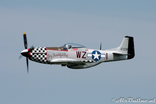 G-HAEC / 472218/WZ-I North American P-51D Mustang