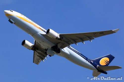 VT-JWM Airbus A330-202 Jet Airways