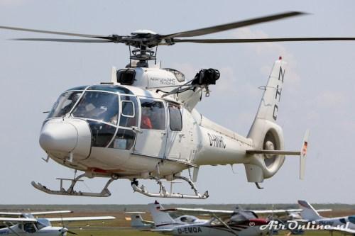 D-HNHC Aerospatiale SA365 C3 Dauphin 2
