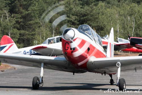 G-HAPY / WP803 De Havilland Canada DHC-1 Chipmunk 22