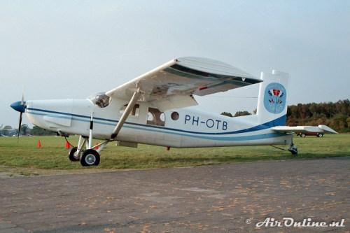 PH-OTB Pilatus PC-6 Porter, Hilversum 1987