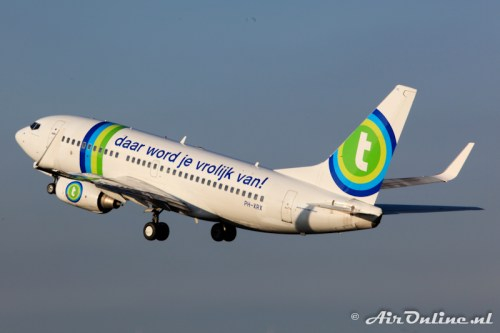 PH-XRX Boeing 737-7K2 Transavia Airlines
