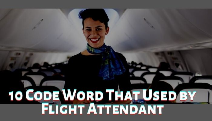 10 code word that used by flight attendant during flights Airplane GEEK 10 Code Word that Used by Flight Attendant During Flights