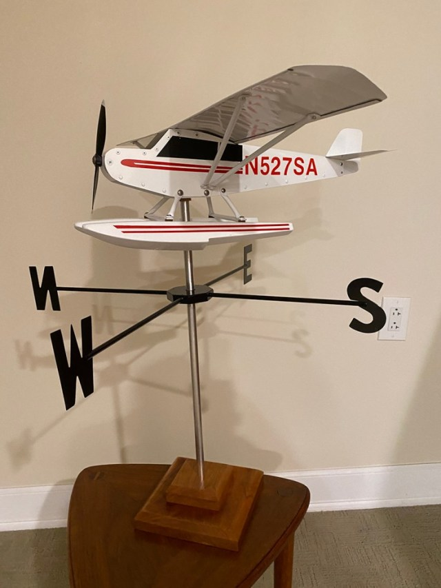 cub weathervanes aid chapter 898 scholarship fund 1 Airplane GEEK Cub Weathervanes Aid Chapter 898 Scholarship Fund