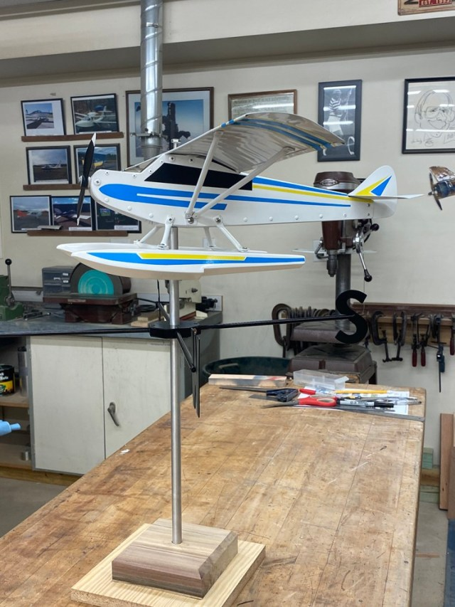 cub weathervanes aid chapter 898 scholarship fund Airplane GEEK Cub Weathervanes Aid Chapter 898 Scholarship Fund