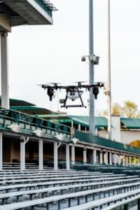 drones take flight to disinfect sports entertainment venues Airplane GEEK Drones Take Flight to Disinfect Sports, Entertainment Venues