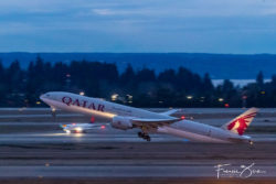 qatar begins 4x weekly service to seattle first sea inaugural since pandemic began 8 Airplane GEEK Qatar begins 4X weekly service to Seattle, first SEA inaugural since pandemic began