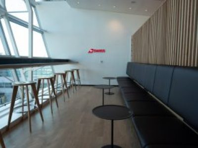swiss shows off its revamped jfk lounge 1 Airplane GEEK SWISS Shows Off Its Revamped JFK Lounge