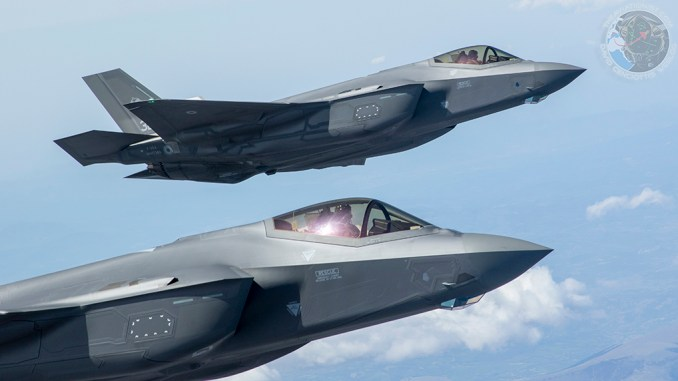 the italian f 35as have deployed to estonia for natos baltic air policing mission Airplane GEEK The Italian F-35As Have Deployed To Estonia For NATO's Baltic Air Policing Mission