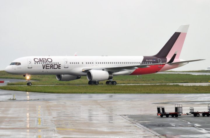 cabo verde airlines set to return to the skies this month Airplane GEEK Cabo Verde Airlines Set To Return To The Skies This Month