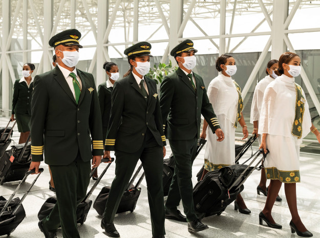 ethiopian starts operating flights with fully vaccinated crew Airplane GEEK Ethiopian starts operating flights with fully-vaccinated crew