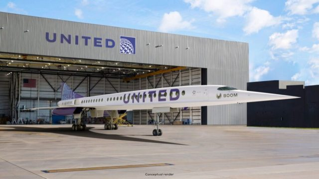 the dawn of a new supersonic era united airlines is in the lead 1 Airplane GEEK The Dawn Of A New Supersonic Era: United Airlines Is In The Lead