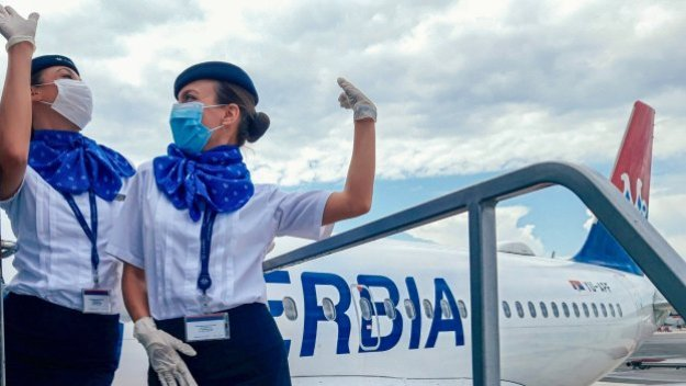 air serbia increases flight frequencies to several european destinations after traffic was up 68 in june 1 Airplane GEEK Air Serbia increases flight frequencies to several European destinations after traffic was up 68% in June