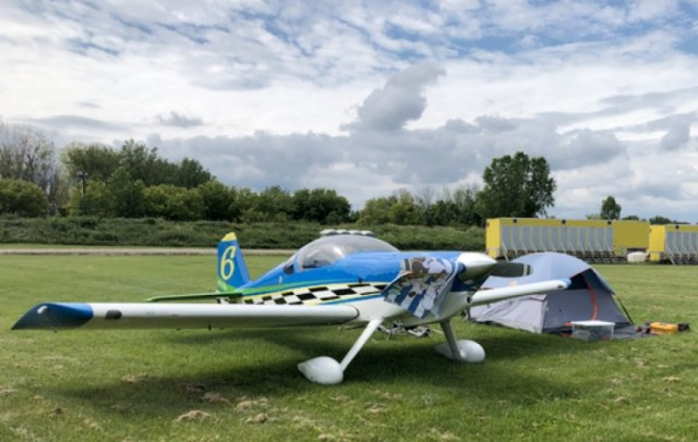 Homebuilt Arrives to Camp Out at AirVenture 2021