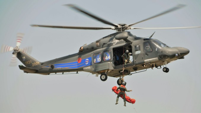 the italian air force unveils first hh 139a helicopter in special color scheme Airplane GEEK The Italian Air Force Unveils First HH-139A Helicopter In Special Color Scheme