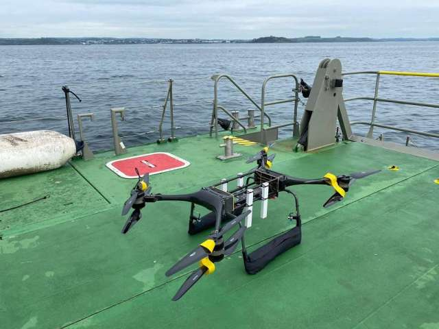 the royal navy tests drones in man overboard trials Airplane GEEK The Royal Navy tests drones in man overboard trials
