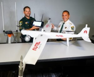 Autel's fixed wing drone Dragonfish