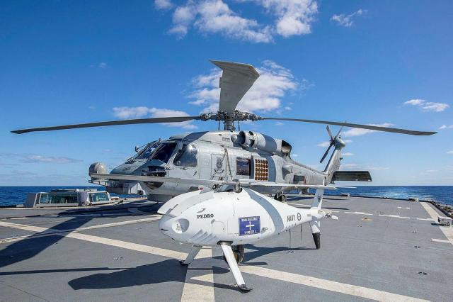 camcopter has eyes in the sky during talisman sabre Airplane GEEK Camcopter has eyes in the sky during Talisman Sabre