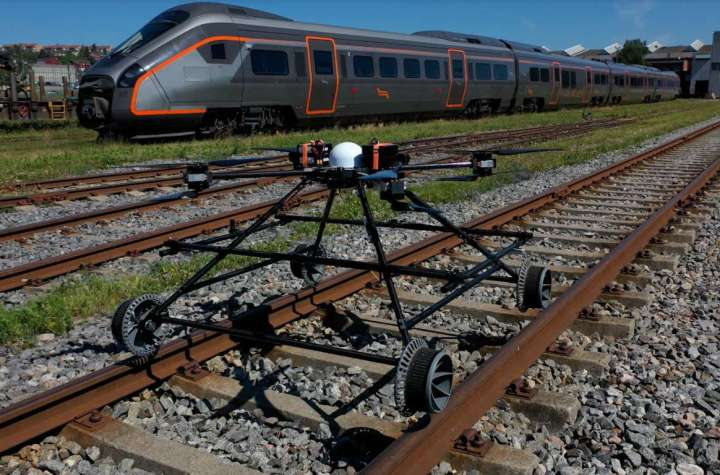 nordic unmanned unveils the staaker bg 300 railway drone Airplane GEEK Nordic Unmanned unveils the Staaker BG-300 Railway Drone