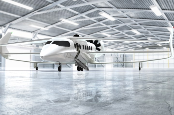 the hybrid electric plane that will switch from passenger to cargo in 15 minutes Airplane GEEK The Hybrid-Electric Plane That Will Switch From Passenger to Cargo In 15 Minutes
