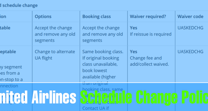 what to do when united airlines changes your flight schedule Airplane GEEK What to do when United Airlines changes your flight schedule