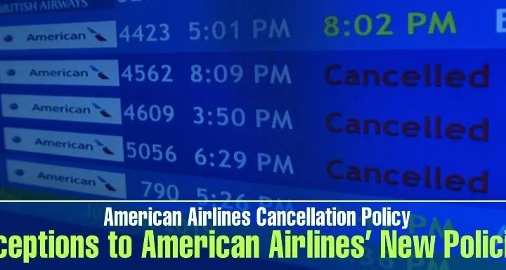 american cancellation policy new changes 2021 Airplane GEEK American CancellationPolicy:' New Changes [2021]