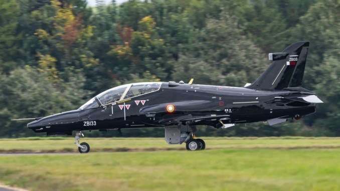 first two hawk mk167 jets for the qatar emiri air force delivered to raf leeming Airplane GEEK First Two Hawk Mk167 Jets For the Qatar Emiri Air Force Delivered To RAF Leeming