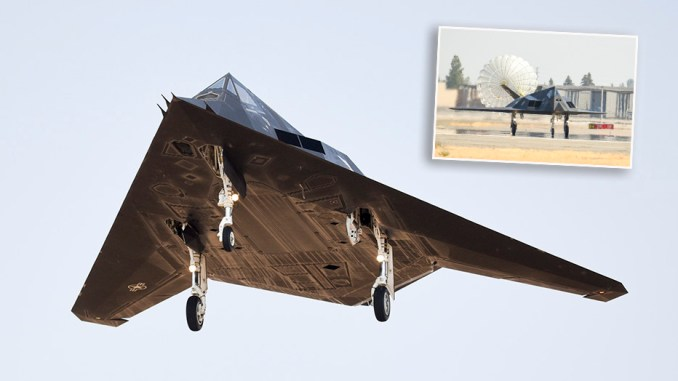 the u s air force has just released the first official photos of the f 117 deployment to fresno Airplane GEEK The U.S. Air Force Has Just Released The First Official Photos Of The F-117 Deployment To Fresno