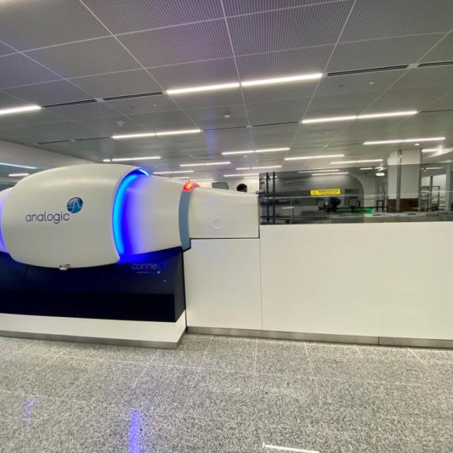 computed tomography-automated screening lane systems