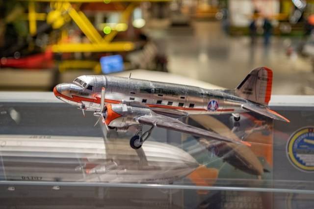 pristine dc 3 model joins the eaa aviation museum collection 1 Airplane GEEK Pristine DC-3 Model Joins the EAA Aviation Museum Collection