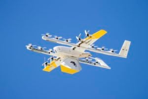 retail drone delivery Alphabet's Wing delivery drone