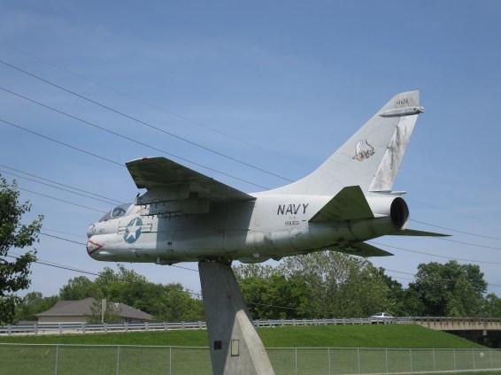 Edwardsville Township - A7 Corsair Left View