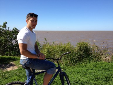 Biking at the Ecological Reserve