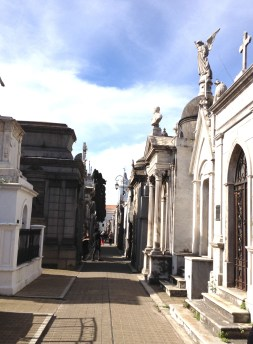 Walking Around the City of the Dead