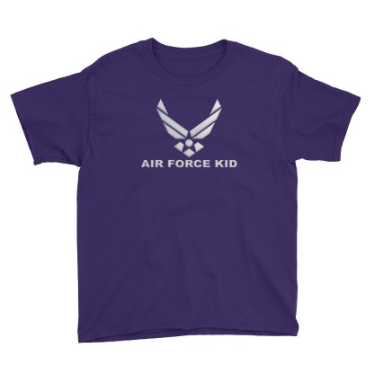 airplaneTees Air Force Kid... Youth Short Sleeve T-Shirt 3