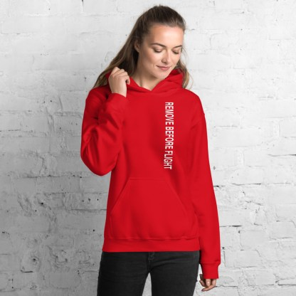 airplaneTees Remove before flight Hoodie - Unisex 12