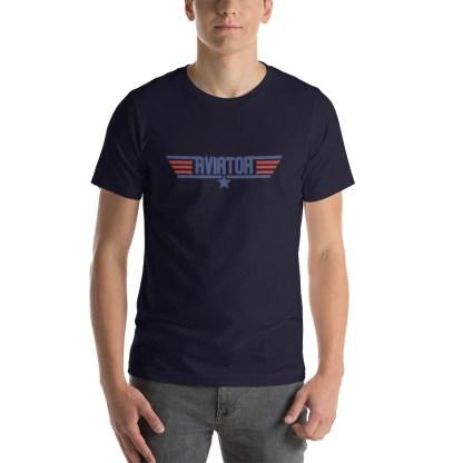 airplaneTees Aviator Maverick tee - Short-Sleeve Unisex 22