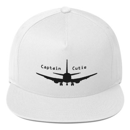 airplaneTees Captain Cutie Hat - Flat Bill Cap 2