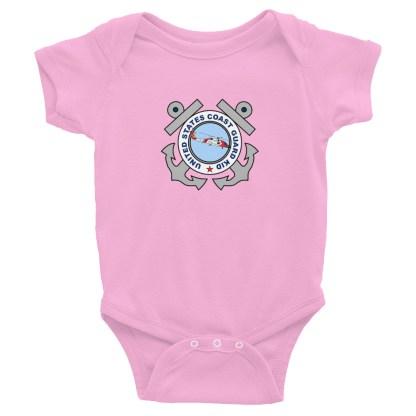 airplaneTees US Coast Guard Kid Onesie... Rabbit Skins Infant Bodysuit 5