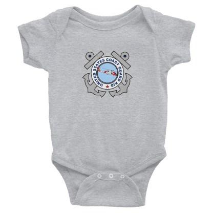 airplaneTees US Coast Guard Kid Onesie... Rabbit Skins Infant Bodysuit 1