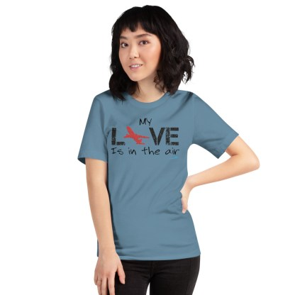 airplaneTees MY Love is in the air tee... Short-Sleeve Unisex 20