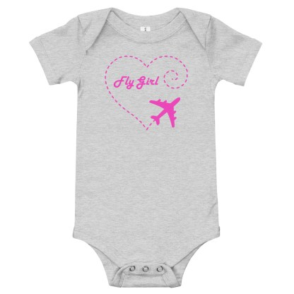 airplaneTees Fly Girl Onesie 4