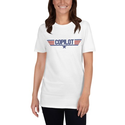 airplaneTees Copilot Maverick Style tee... Short-Sleeve Unisex T-Shirt 8