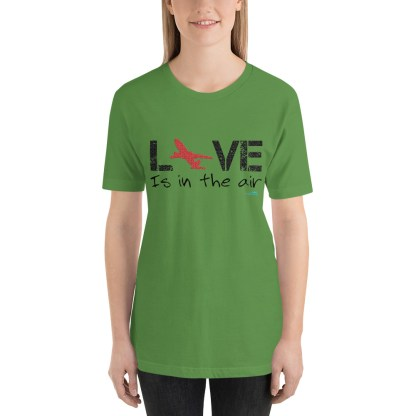 airplaneTees LOVE is in the air tee... Short-Sleeve Unisex 19