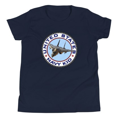 airplaneTees US NAVY KID Tee... Back Printed - Youth Short Sleeve 7