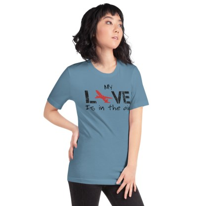 airplaneTees MY Love is in the air tee... Short-Sleeve Unisex 22